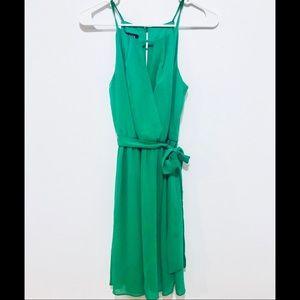 Dresses & Skirts - Mint/Green Tie Waist Dress